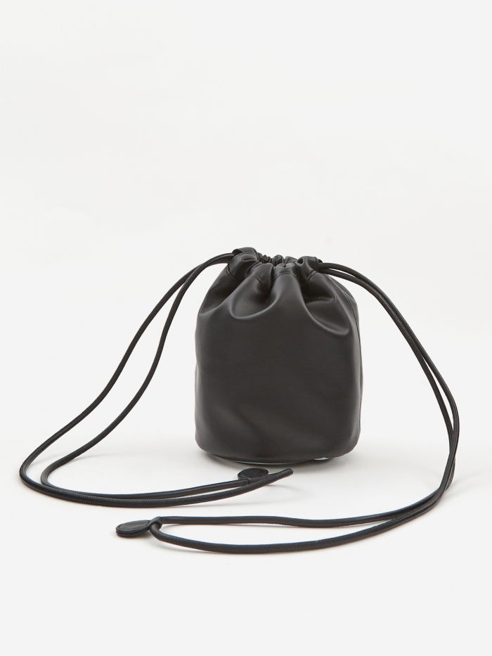 MM6 Maison Margiela Drawstring Bag - Black (Image 1)