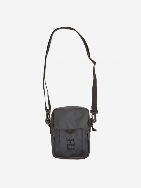 Logo Shoulder Bag - Charcoal