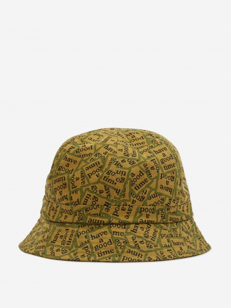 Military Frame Bucket Hat - Military Frame