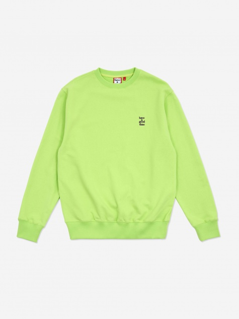 Mini Logo Crewneck Sweatshirt - Melon Soda