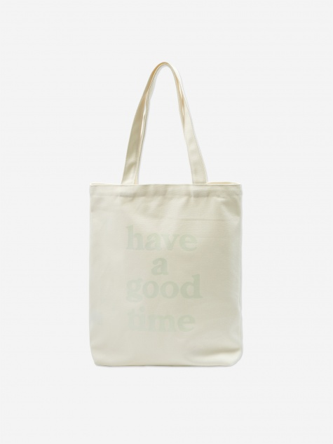 Logo Tote Bag - White