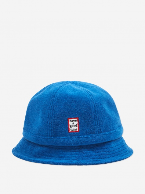 Military Terry Bucket Hat - Marine Blue