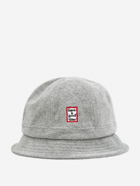 Military Terry Bucket Hat - Grey