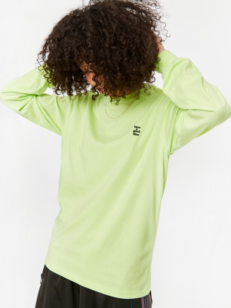 Mini Logo Longsleeve T-Shirt - Melon Soda