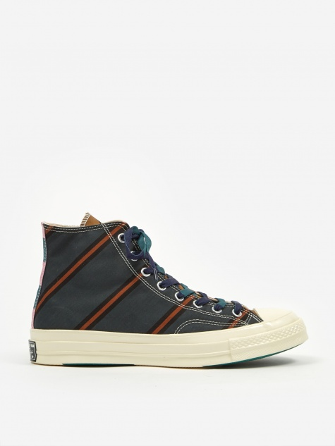 Chuck Taylor 70 Pinnacle Varsity Hi - Green/Orange/Whit