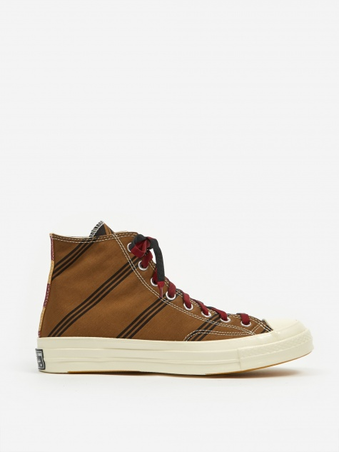 Chuck Taylor 70 Pinnacle Varsity Hi - Tan/Burgundy/Blac