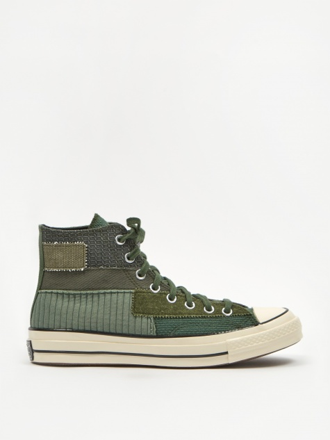 Chuck Taylor 70 Pinnacle Patchwork Hi - Black Forest