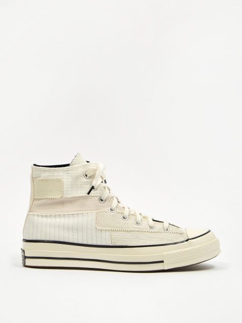 Chuck Taylor 70 Pinnacle Patchwork Hi - White/Egret