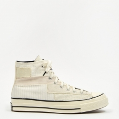 Converse Chuck Taylor 70 Pinnacle Patchwork Hi - White/Egret