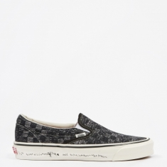 Vans Vault x Jim Goldberg OG Classic Slip-On LX - TV Static