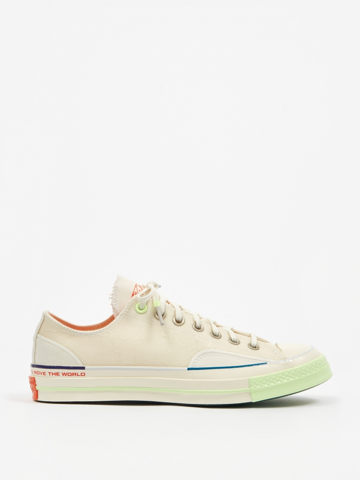 Converse x Pigalle Chuck Taylor 70 Ox - White (Image 1)