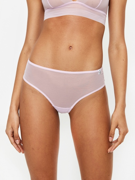 Les Girl Les Boy Intimate Smooth Brazillian Brief - Lilac