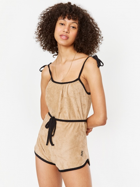 Les Girl Les Boy Terry Playsuit - Teddy