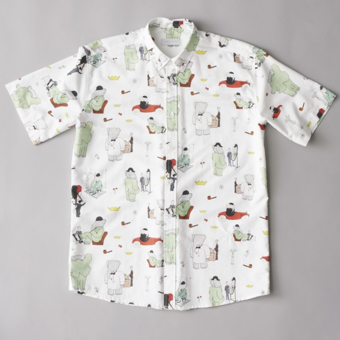 Soulland BaBar Paris Shirt S/S - White (Image 1)