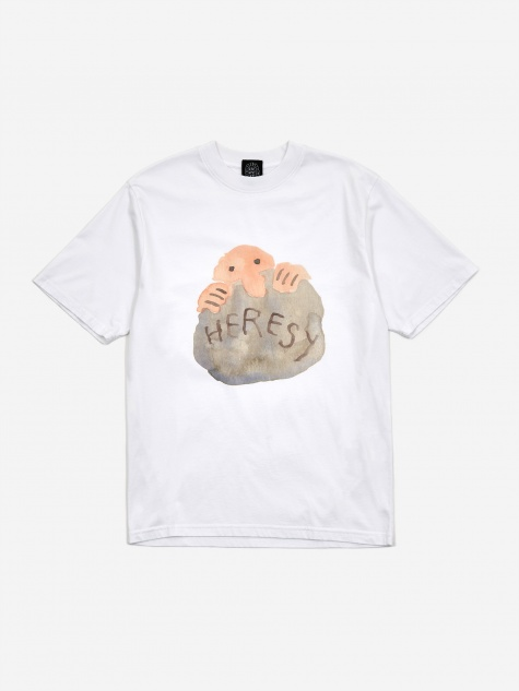 Rock Peasant Shortsleeve T-Shirt - White