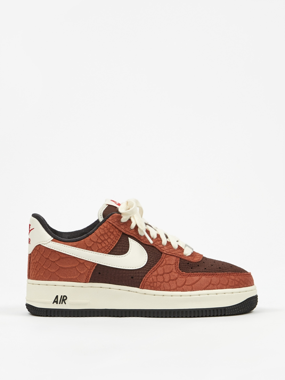 Nike Air Force 1 Premium Red BarkSailEarthRed