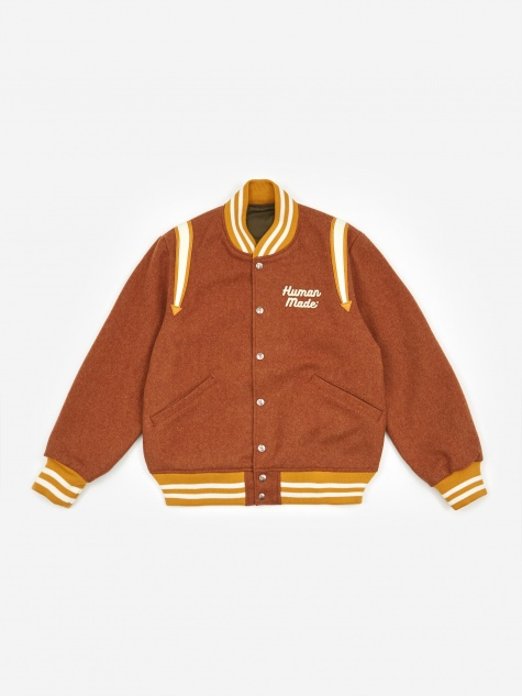 Varsity Jacket - Brown