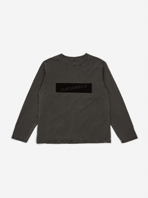 Graphic Longsleeve T-Shirt - Black