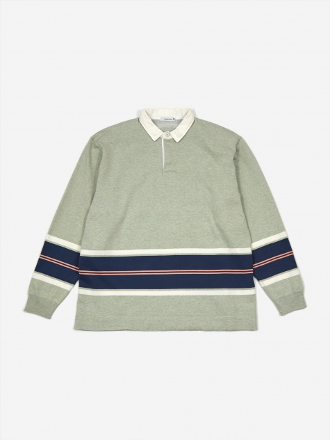 Rugger Sweatshirt - Mint Green