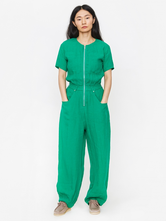 LF Markey Francis Boilersuit - Green (Image 1)
