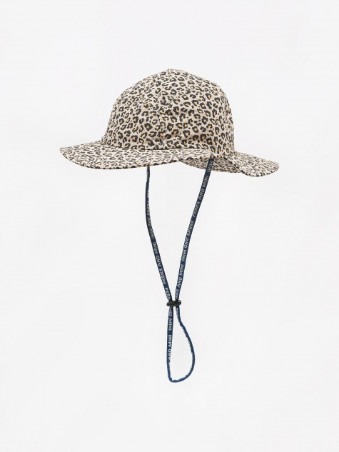 Boxed Animal Sun Hat - Sand Animal