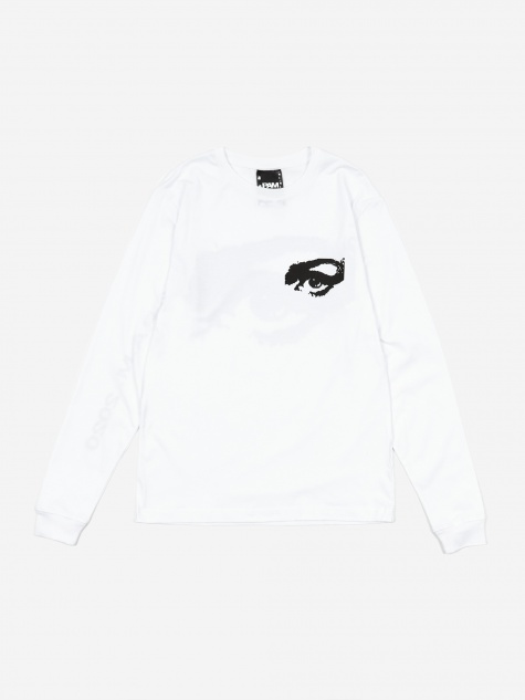 Private LS T-Shirt - Optical White