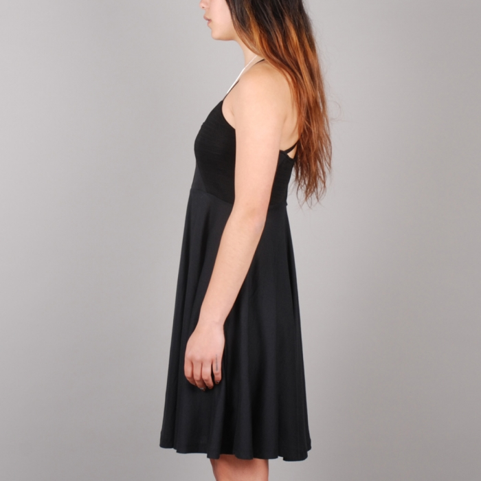 Surface To Air Pyramid Dress - Black (Image 1)