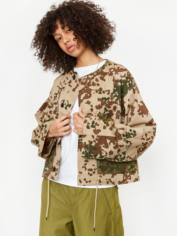 Girls Of Dust Nuclear Jacket Sahara Camo  - Multi (Image 1)