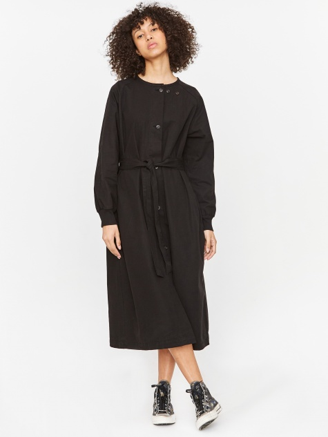 Military Dress Ripstop Organic Cotton - Black