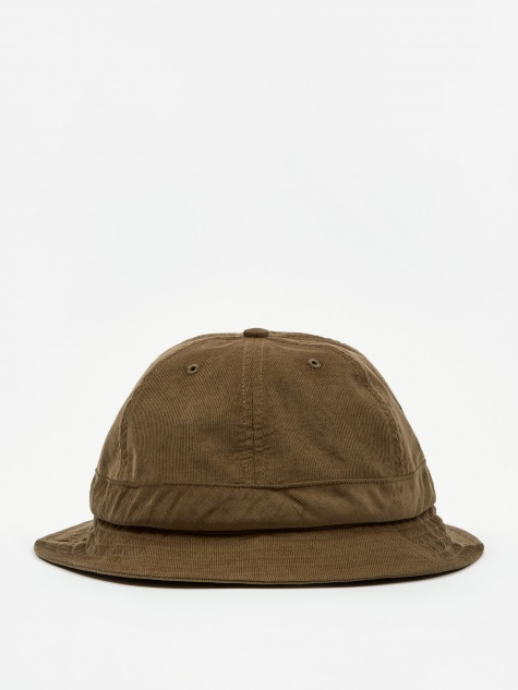 Bell Hat - Olive Minicord