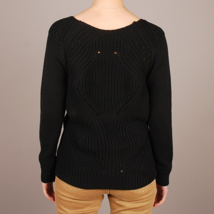 Surface To Air Ginger Jumper - Black (Image 1)