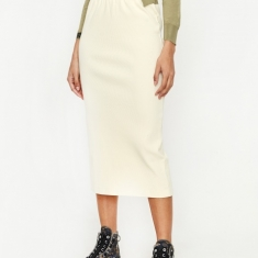 Our Legacy Rib Skirt - Nicotine