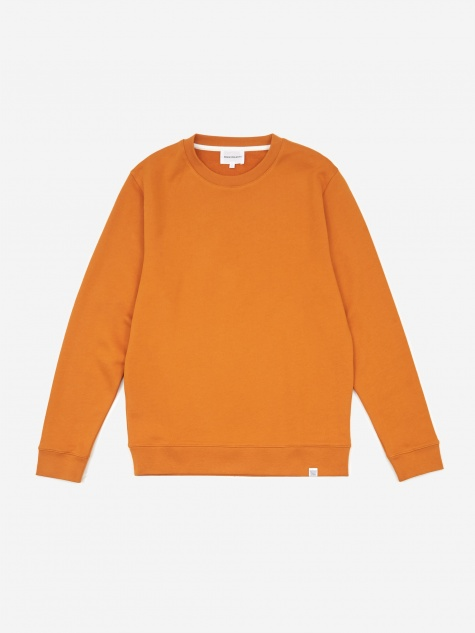Vagn Classic Crewneck Sweatshirt - Cadmium Orange