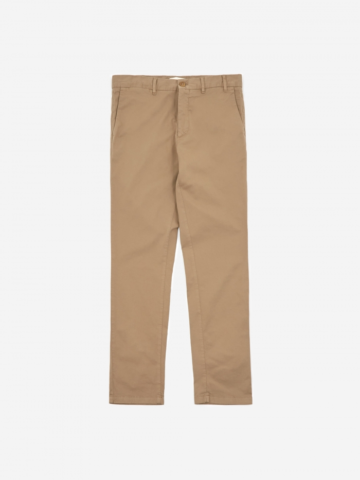 Norse Projects Aros Slim Light Stretch Trouser - Utility Khaki (Image 1)