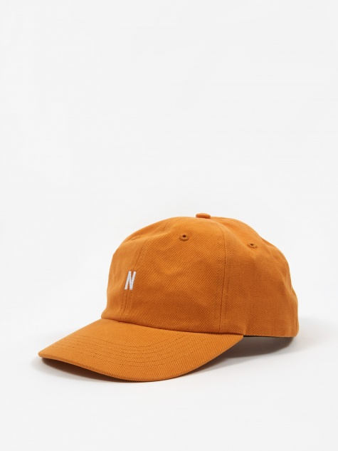 Twill Sports Cap - Cadmium Orange
