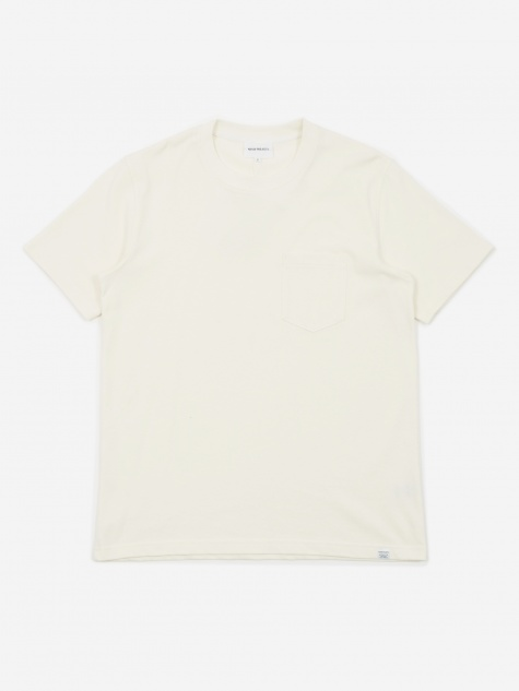 Johannes Pocket T-Shirt - Ecru