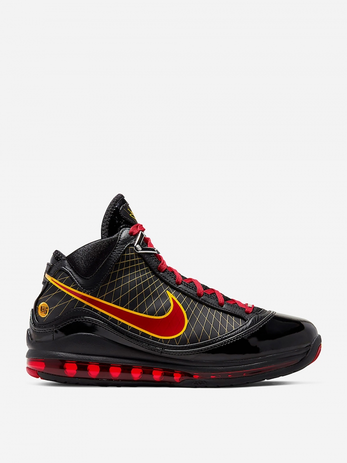 Nike Lebron 7 QS - Black/Red/Maize (Image 1)