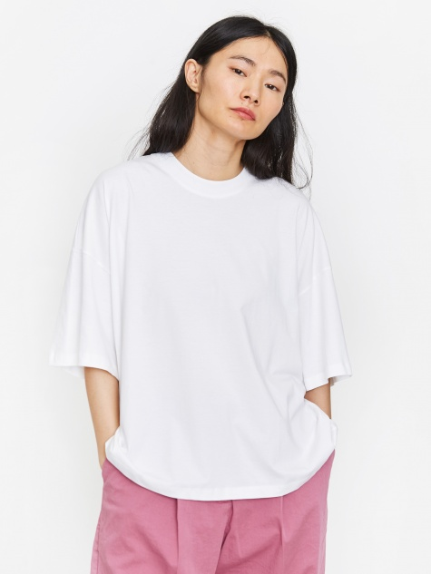 Oversized Boxy T-Shirt - White