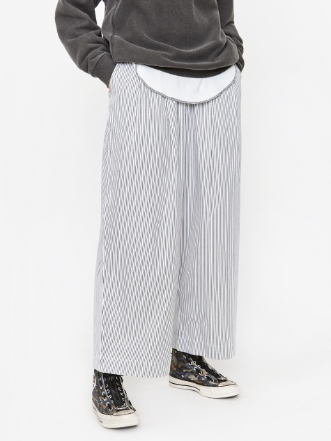 Study Trouser - Stripe Twill