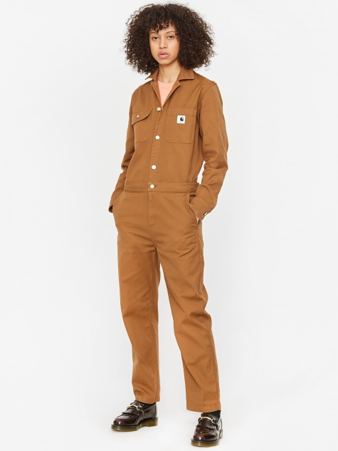 Tara Coverall - Hamilton Brown Rinsed
