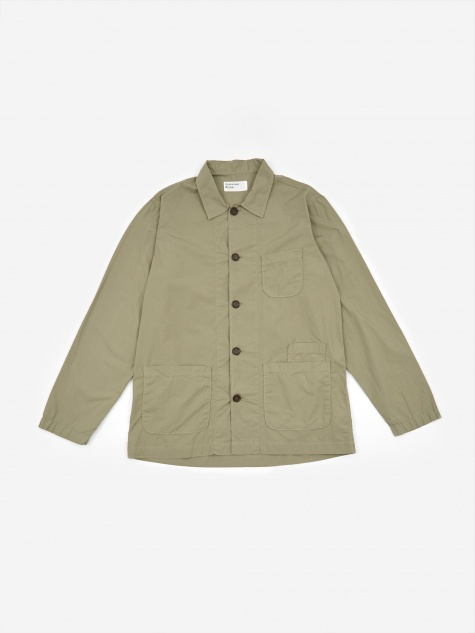 Bakers Overshirt - Poplin Laurel