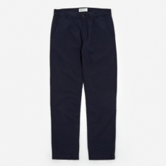 Universal Works Aston Pant - Navy Cotton Suiting