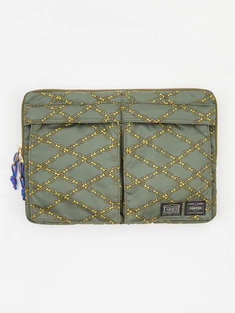 x Porter Yoshida & Co Document Case - Green