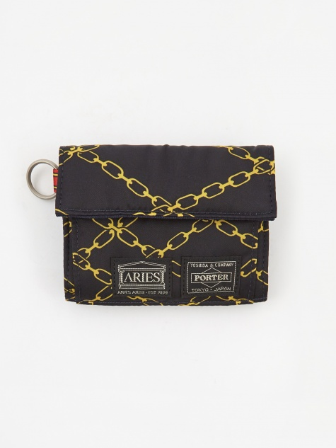 x Porter Yoshida & Co Wallet - Black