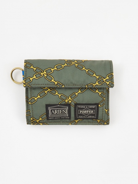 x Porter Yoshida & Co Wallet - Green