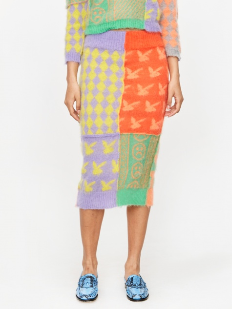 Patch Work Skirt - Patchwork