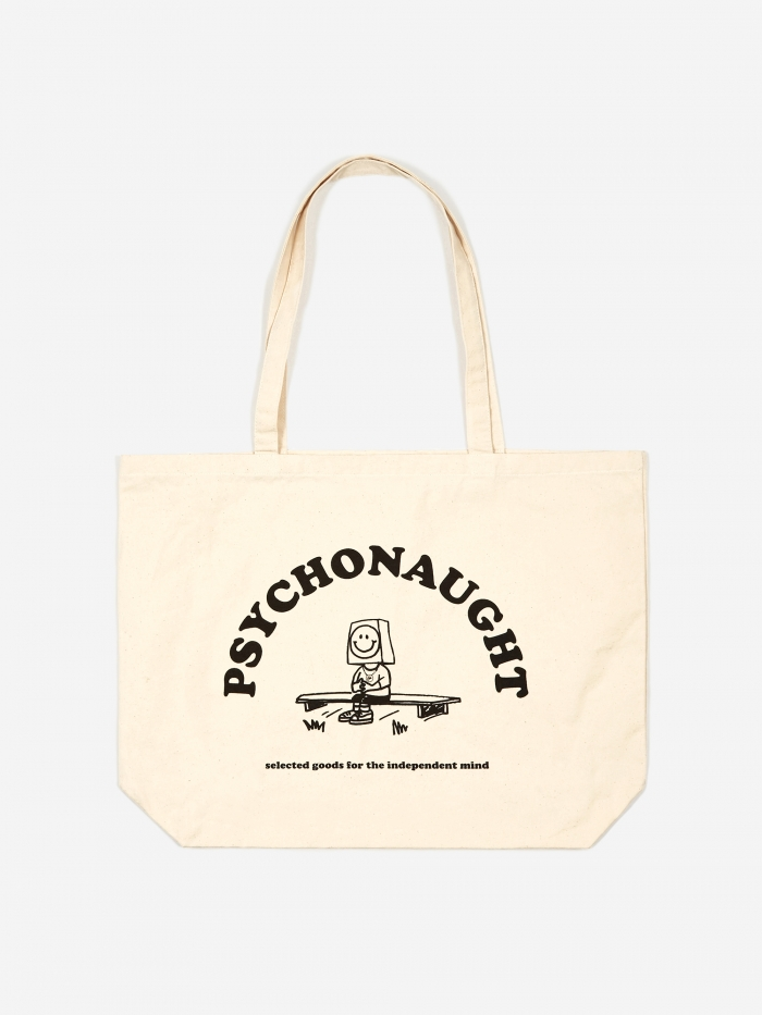 Goods By Goodhood Psychonaught Tote Bag - Natural (Image 1)
