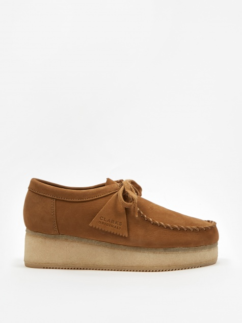 Clarks Wallacraft Lo - Oak Nubuck