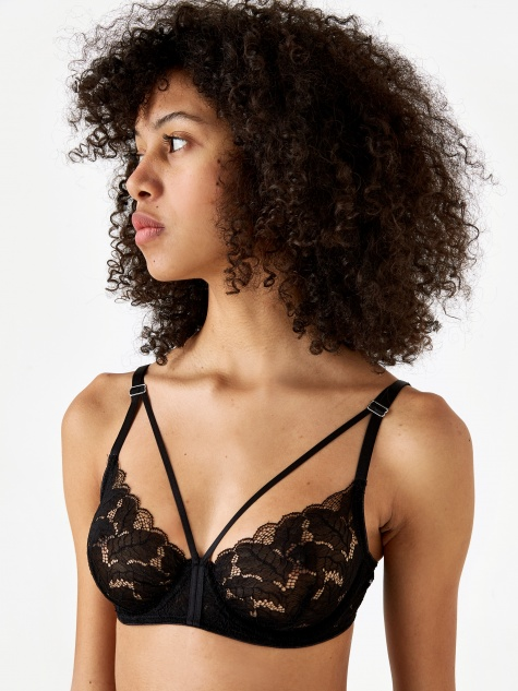 Ziggy Underwire Bra - Black