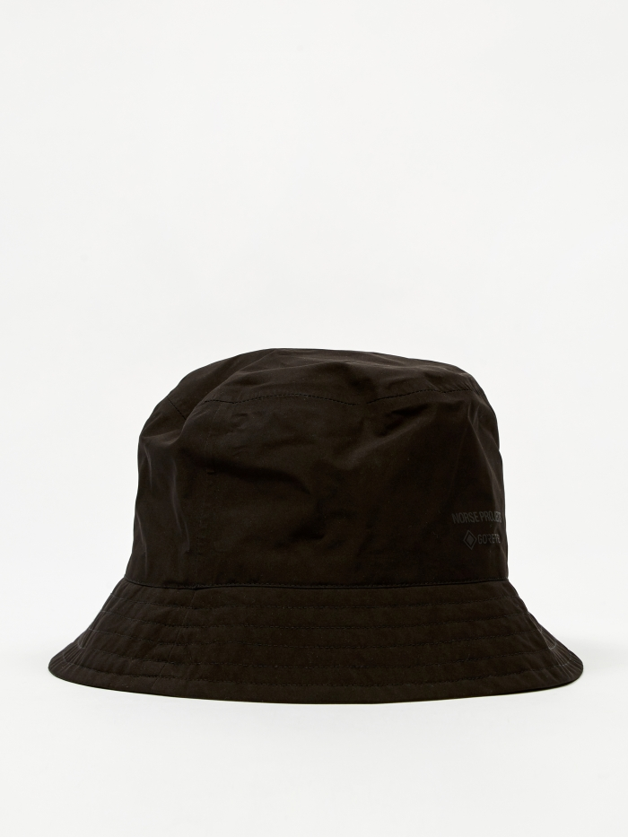 Norse Projects Gore-Tex Bucket Hat - Black (Image 1)